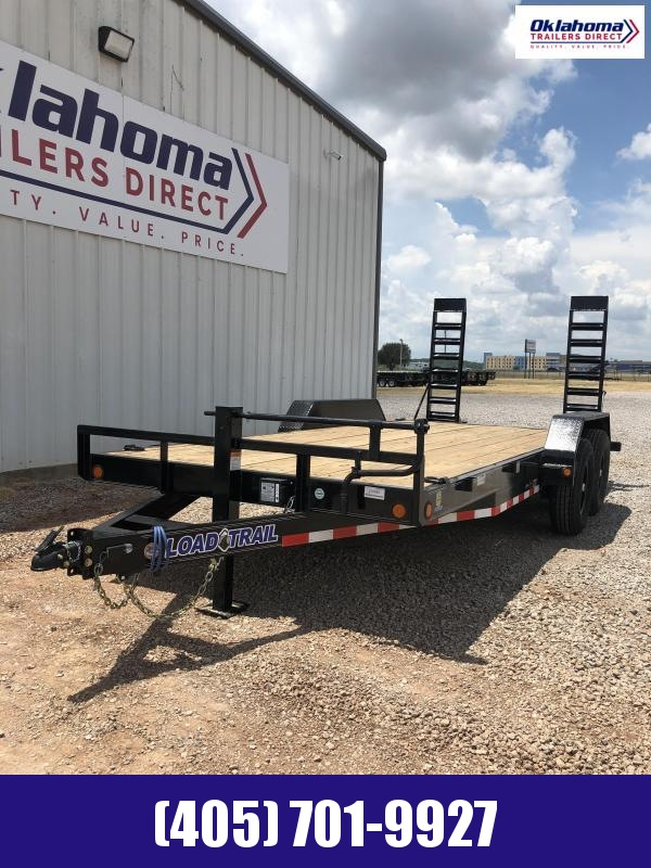 "2020 Load Trail 83"" x 24' TA Equipment Trailer"