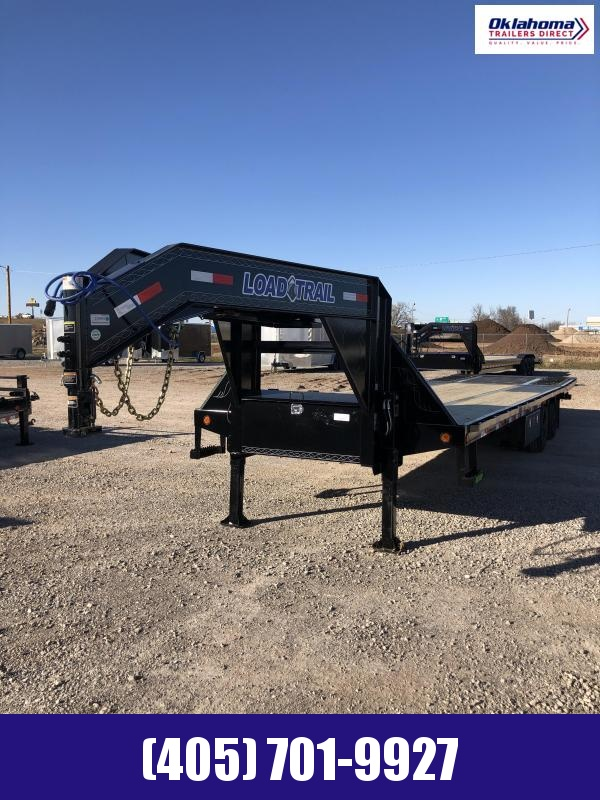 "2021 Load Trail 102"" x 32' TA Gooseneck w/ Hydraulic Dove Trailer Equipment Trailer"
