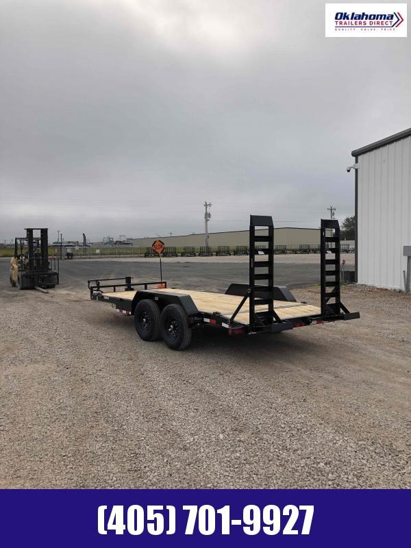 "2021 Load Trail 83"" x 18' Equipment Trailer"