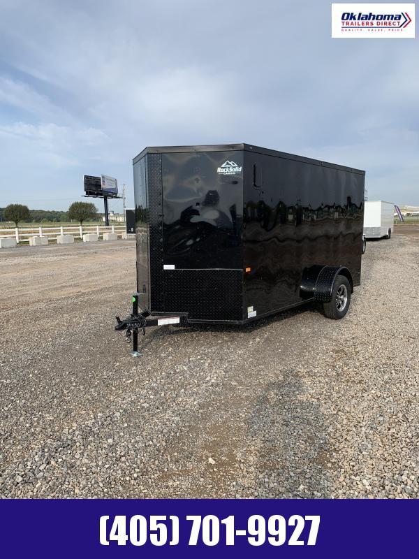 2021 Rock Solid Cargo 6'x12' SA Enclosed Cargo Trailer