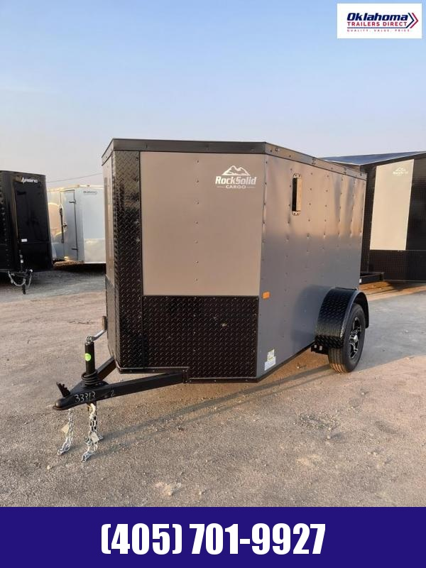 2022 Rock Solid Cargo 5' x 8' SA Enclosed Cargo Trailer