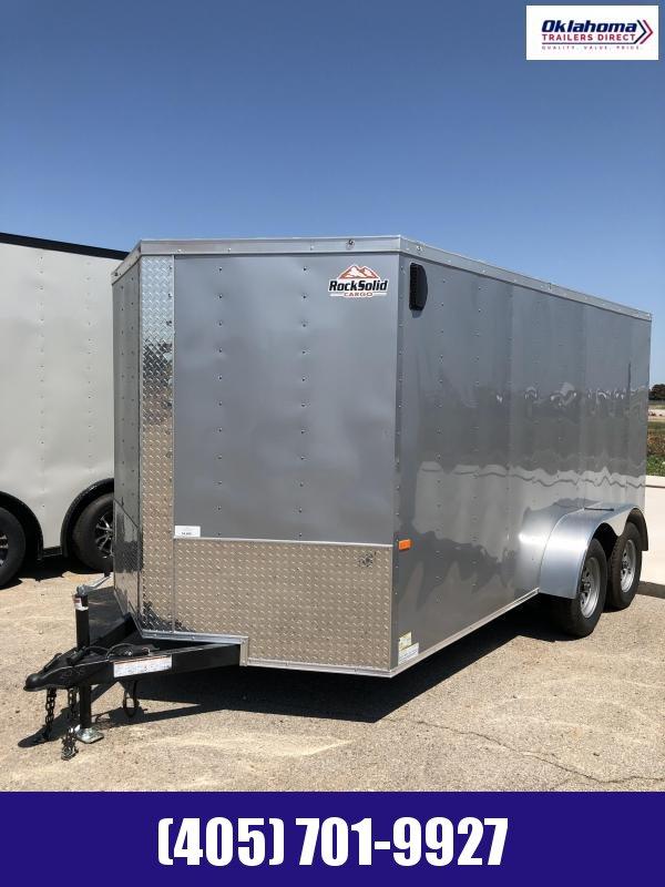 2021 Rock Solid Cargo 7' x 14' SA Enclosed Cargo Trailer
