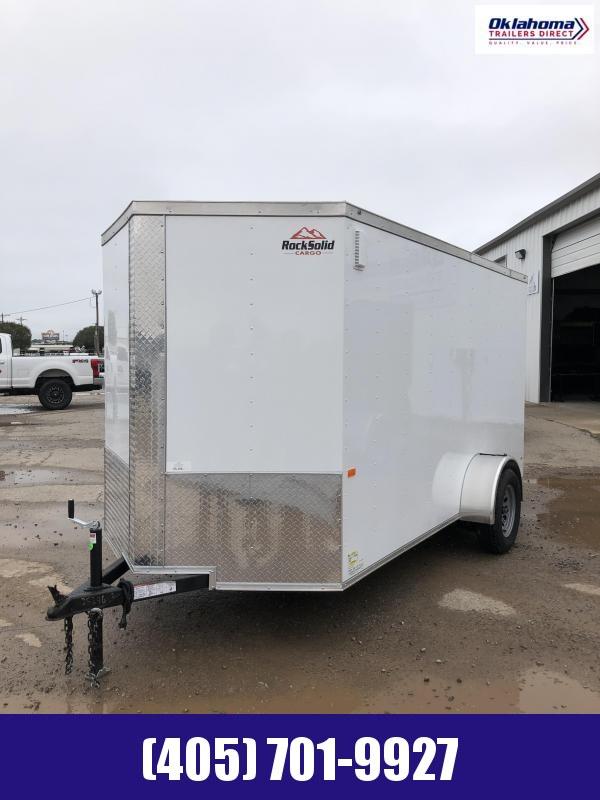 2021 Rock Solid Cargo 6'x12' SA Enclosed Cargo Trailer