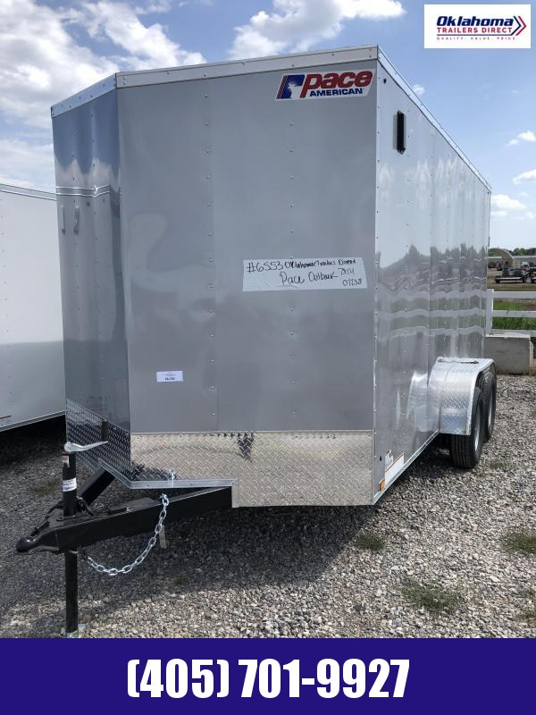 2022 Pace American 7' x14' TA Enclosed Cargo Trailer