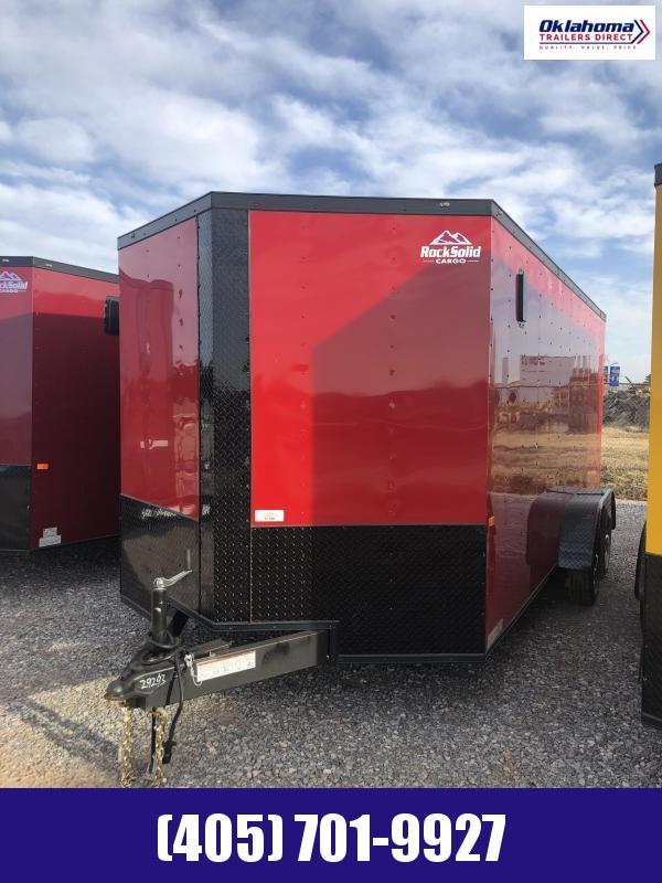 2021 Rock Solid Cargo 7' x 16' TA Enclosed Cargo Trailer