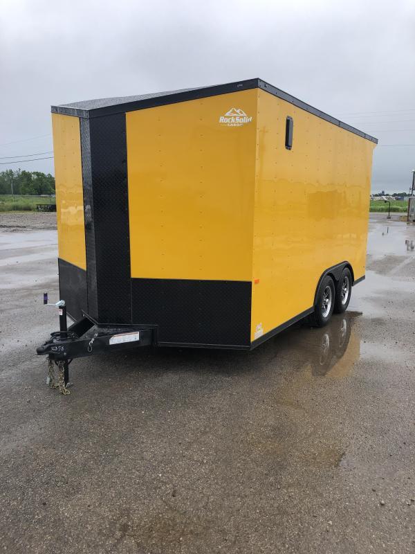 2021 Rock Solid Cargo 8.5' x 14' TA Enclosed Trailer Cargo / Enclosed Trailer