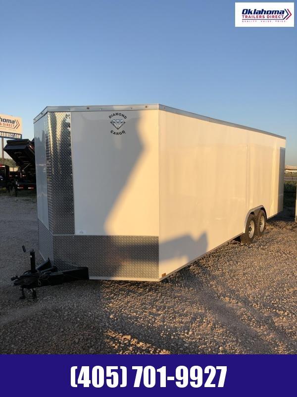 2022 Diamond Cargo 8.5 x 24 Enclosed Cargo Trailer