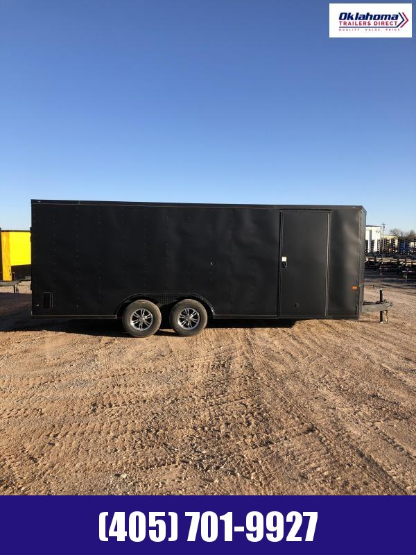 2021 Rock Solid Cargo 8.5' x 20' TA Enclosed Cargo Trailer
