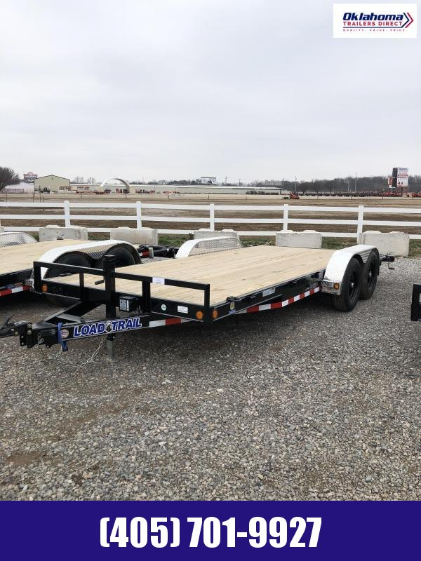 "2021 Load Trail 83"" x 18' TA Equipment Trailer"