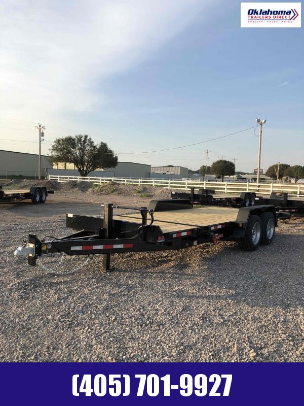 2021 Behnke 7' x 20' Tilt Deck Equipment Trailer