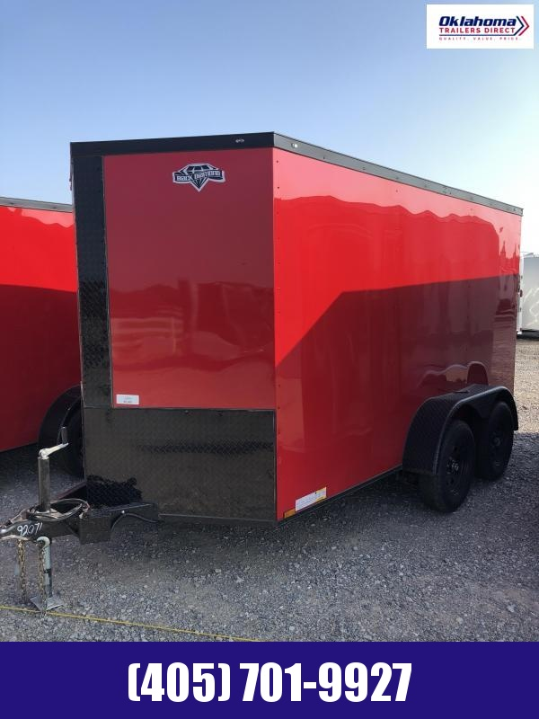 2021 Diamond Cargo 6' x 12' Tandem Axle Enclosed Cargo Trailer