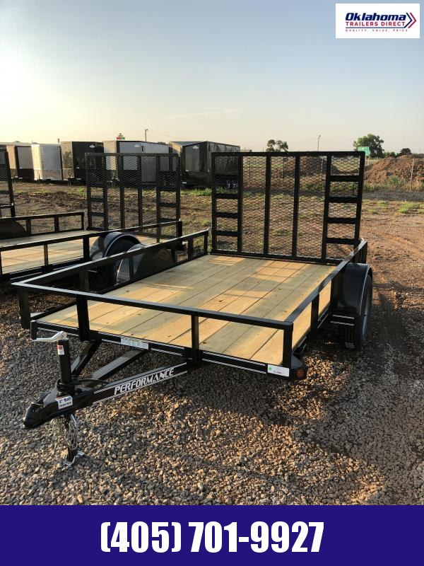 2020 Performance Trailers 77' x 12' SA Utility Trailer