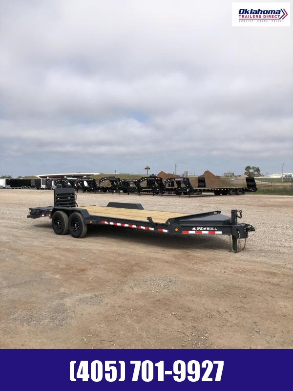 "2021 Iron Bull 83"" x 22' Equipment Trailer"