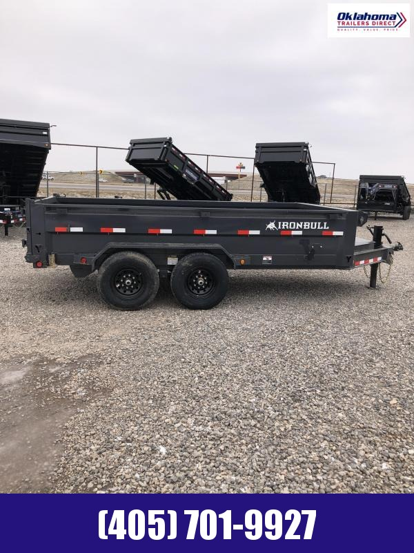 "2021 Iron Bull 83"" X 14' Dump Trailer"
