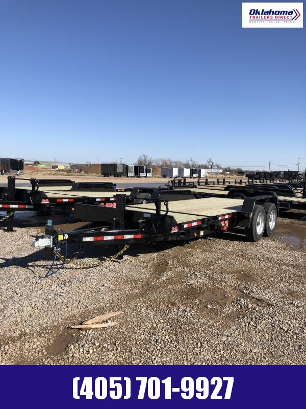 """2021 Behnke 83"""" x 20' TA Tilt Deck Equipment Trailer"""