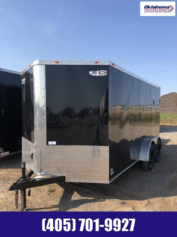 2021 Cynergy Cargo 7 x 14 TA Enclosed Cargo Trailer
