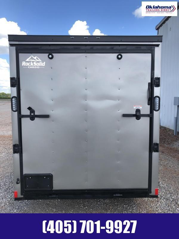 2020 Rock Solid Cargo 6'x12' SA Enclosed Cargo Trailer