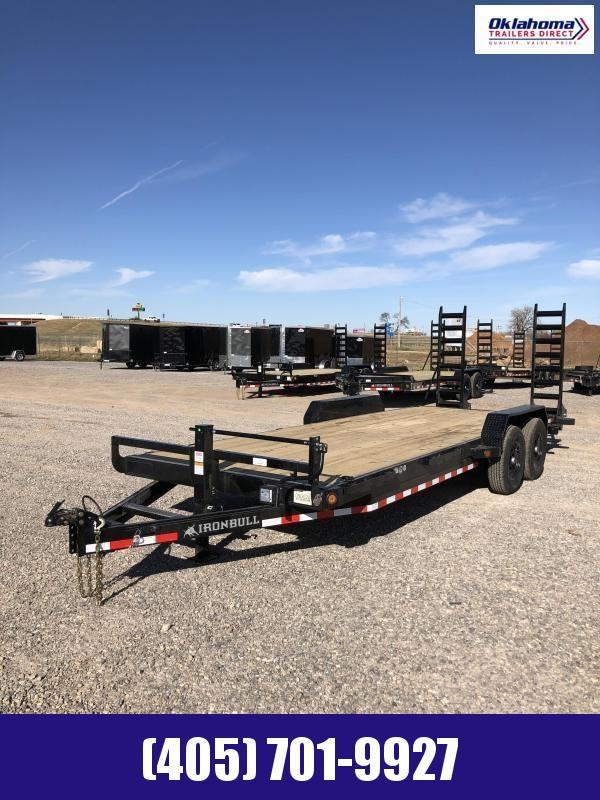 """2020 Iron Bull 83"""" x 20' TA Equipment Trailer"""