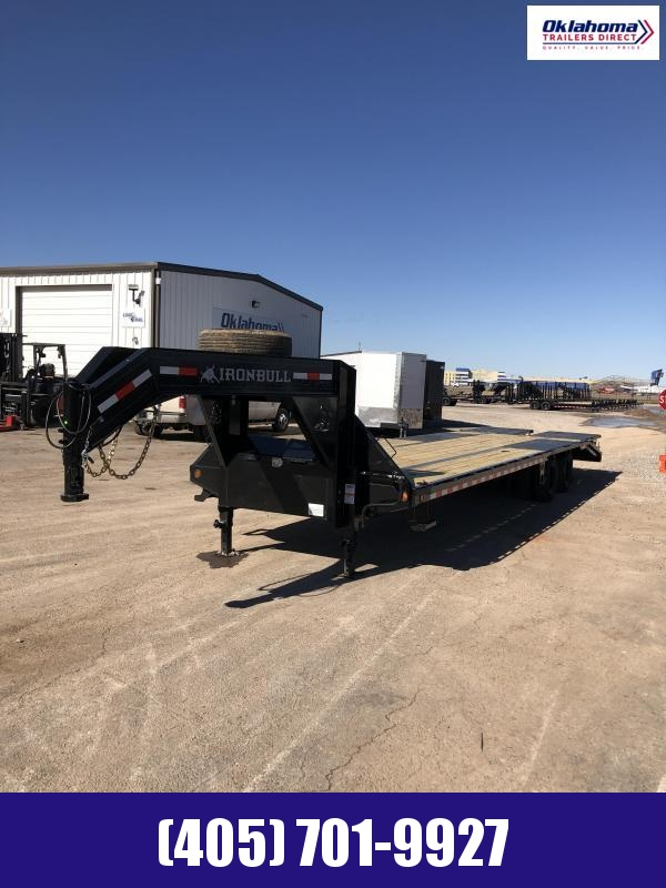 "2021 Iron Bull 102"" x 32' TAD Gooseneck Equipment Equipment Trailer"