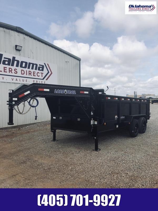 "2020 Load Trail 83"" x 16' Tandem Axle 12"" I-Beam Heavy Duty Goose Dump Trailer"