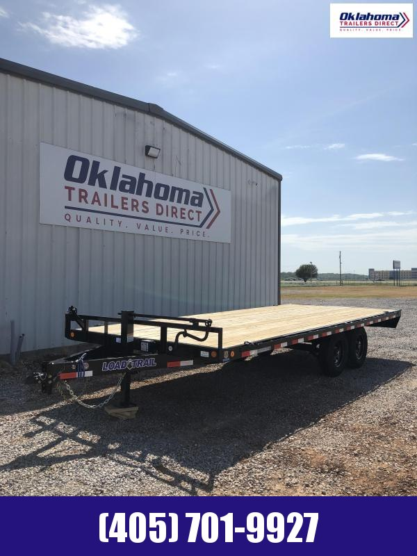 """2020 Load Trail 102"""" x 20' Deck Over Pintle Hook Equipment Trailer"""