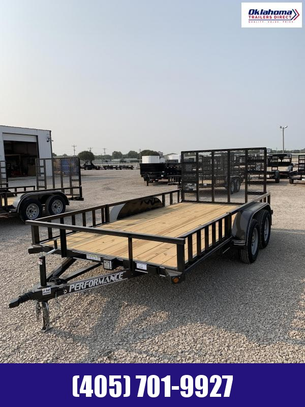 "2021 Performance Trailers 83"" x 14'  Utility Trailer"