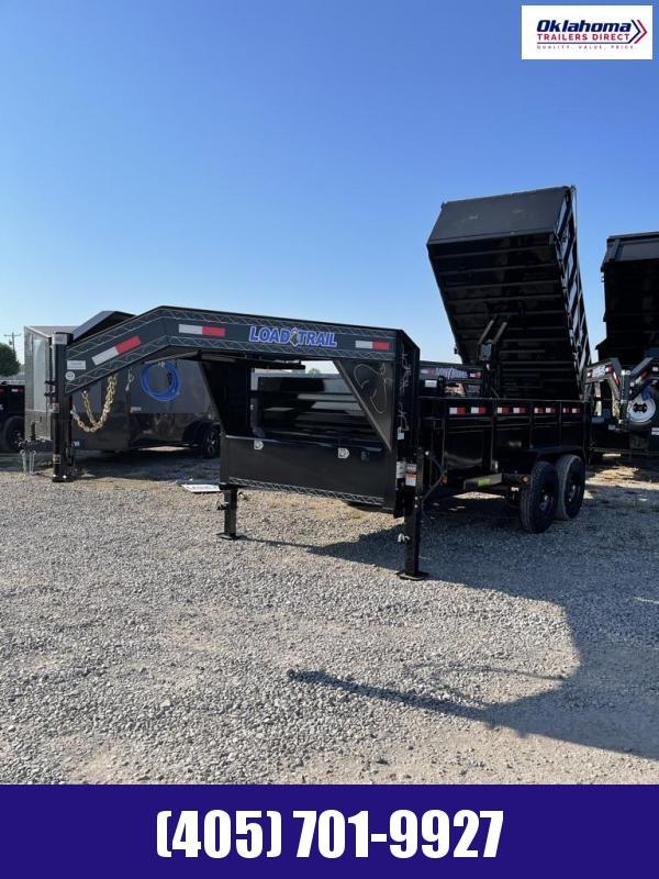 "2022 Load Trail 83"" x 14' Tandem Axle Gooseneck Dump Trailer"