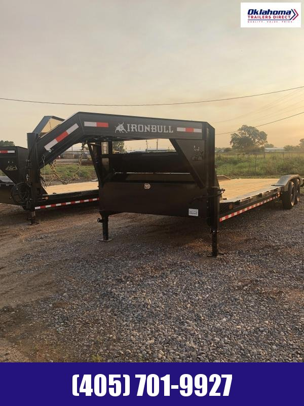 "2021 Iron Bull 102"" x 30' Equipment Trailer"