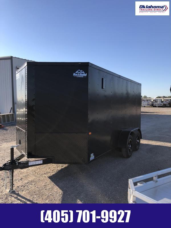 2022 Rock Solid Cargo 7' x 14' TA Enclosed Cargo Trailer