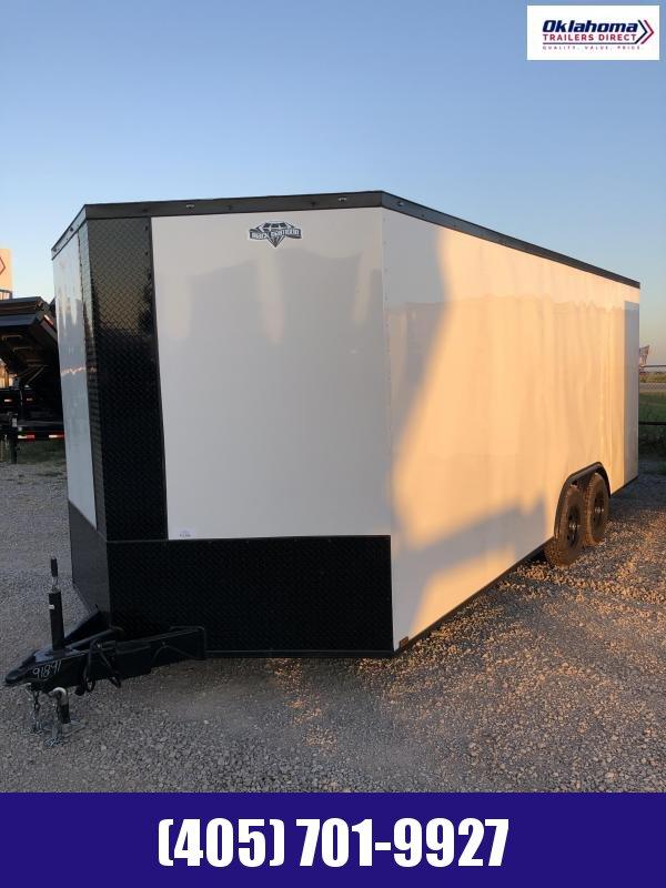 2022 Diamond Cargo 8.5' x 20' V Nose Tandem Axle Enclosed Cargo Trailer