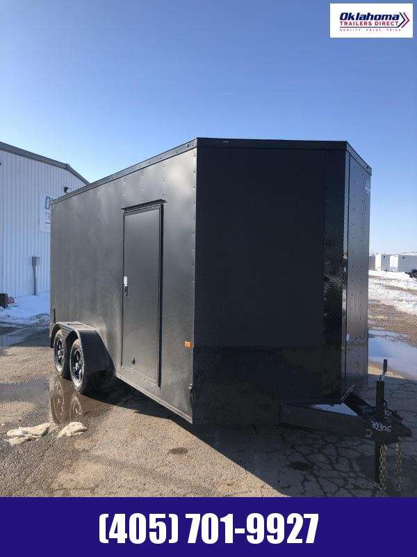 2021 Rock Solid Cargo 7' x 16' TA Enclosed Cargo Trailer