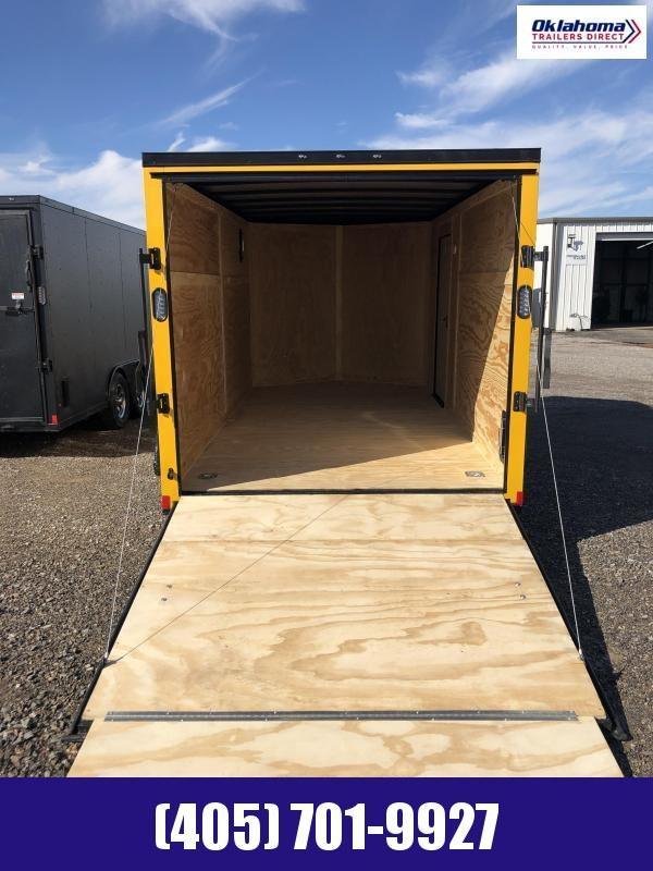 2021 Rock Solid Cargo 7 x 14 TA Enclosed Cargo Trailer