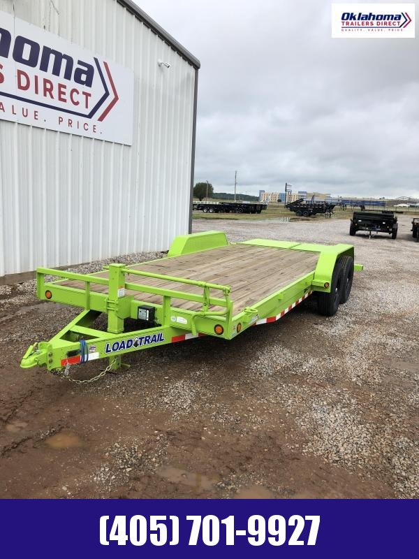 "2020 Load Trail 83"" x 20' TA Equipment Trailer"