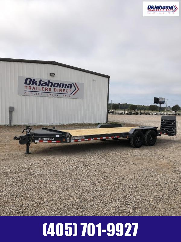 "2020 Iron Bull 83"" x 22' Equipment Trailer"