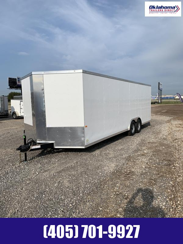 "2021 Rock Solid Cargo 8.5"" x 24' Enclosed Cargo Trailer"