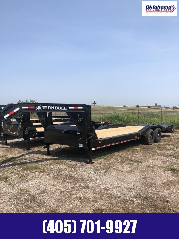 "2021 Iron Bull 102"" x 26' Equipment Trailer"