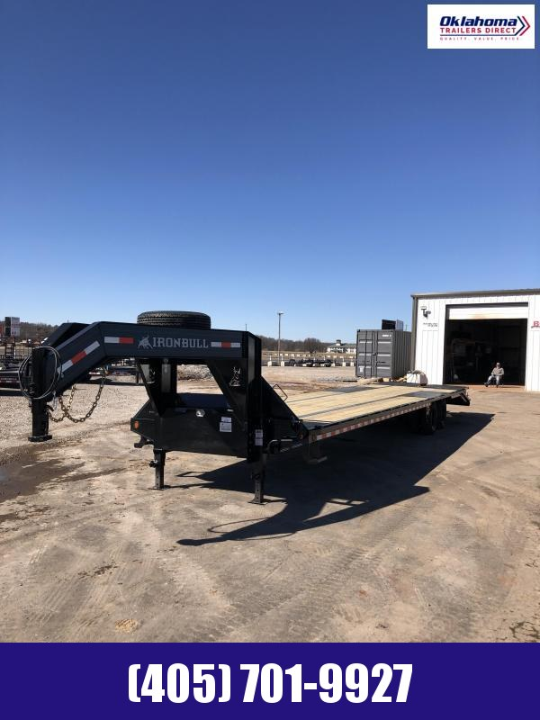 "2021 Iron Bull 102"" x 40' TA Gooseneck Equipment Trailer Equipment Trailer"