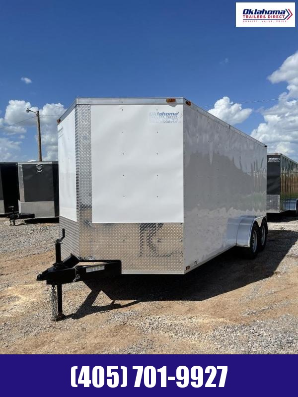2021 Triple R 7' x 16' TA Enclosed Cargo Trailer