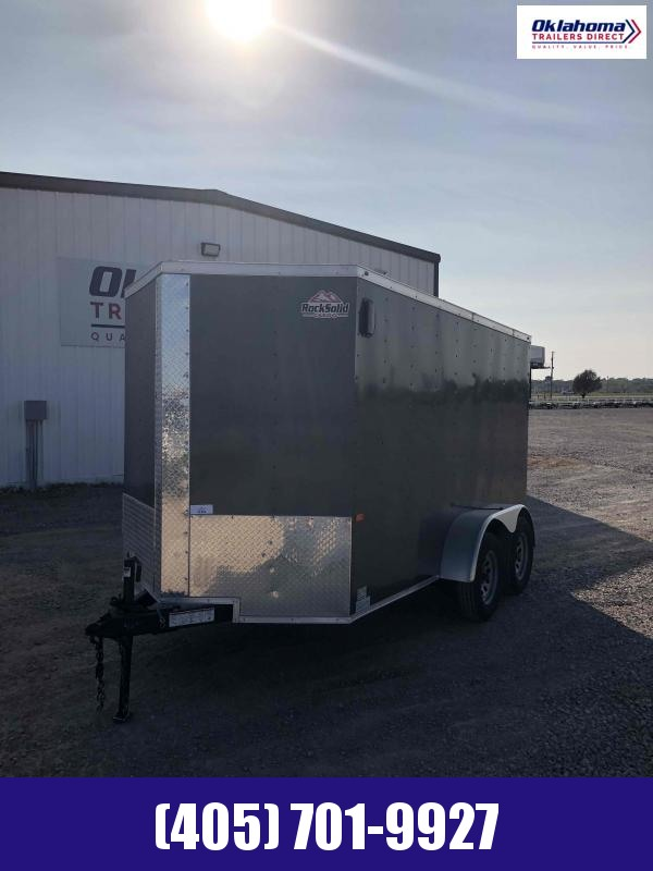2020 Rock Solid Cargo 6 x 12 TA Enclosed Cargo Trailer