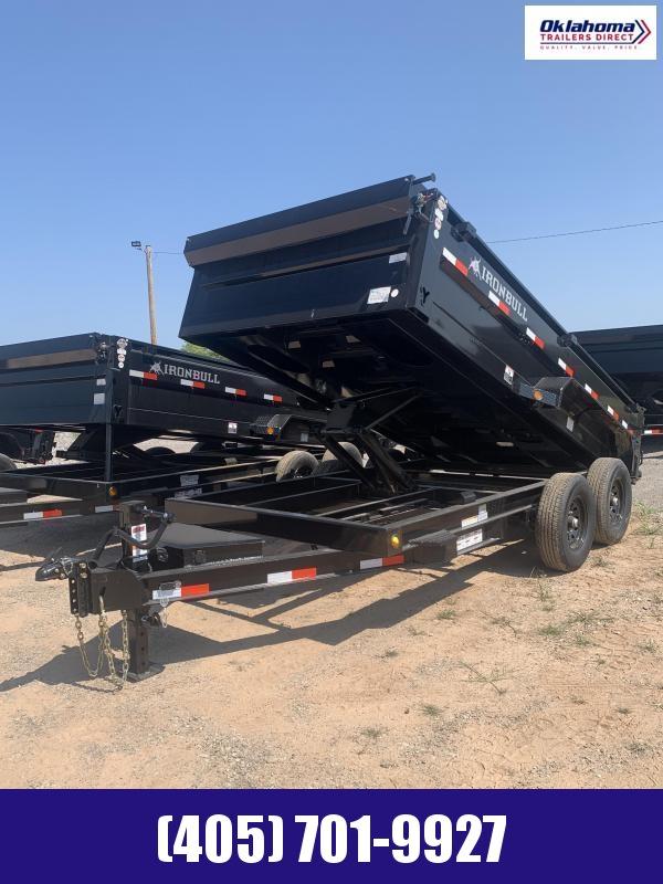 "2022 Iron Bull 83"" x 14' TA Dump Trailer"