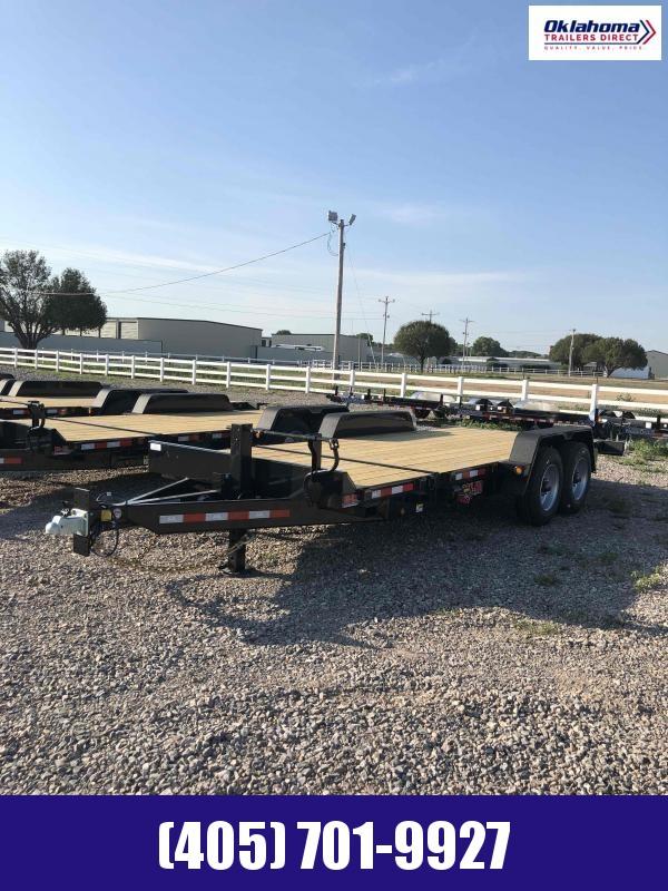 2021 Behnke 7' x 20' Tilt Deck Equipment Trailer