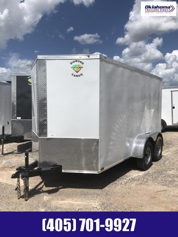 2022 Diamond Cargo 6' x 12' TA Enclosed Cargo Trailer