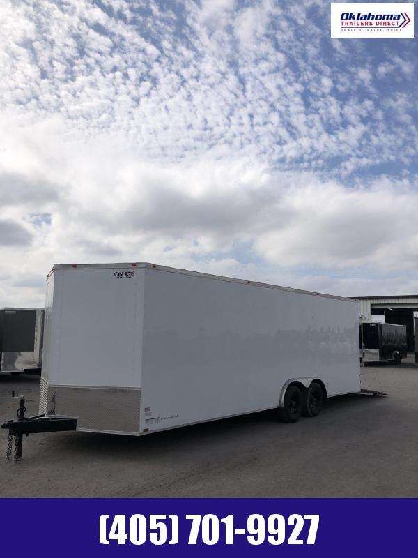 2021 Cynergy Cargo 8.5 ' x 24' Tandem Axle Car / Racing Trailer
