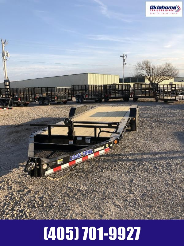 "2021 Load Trail 83"" x 22' TA Tilt Deck Equipment Trailer"