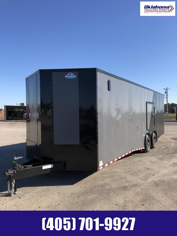 2022 Rock Solid Cargo 8.5 x 28 TA Enclosed Cargo Trailer