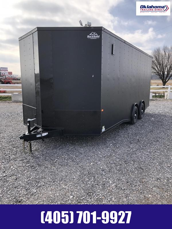 2021 Rock Solid Cargo 8.5' x 20' TA Enclosed Cargo Trailer