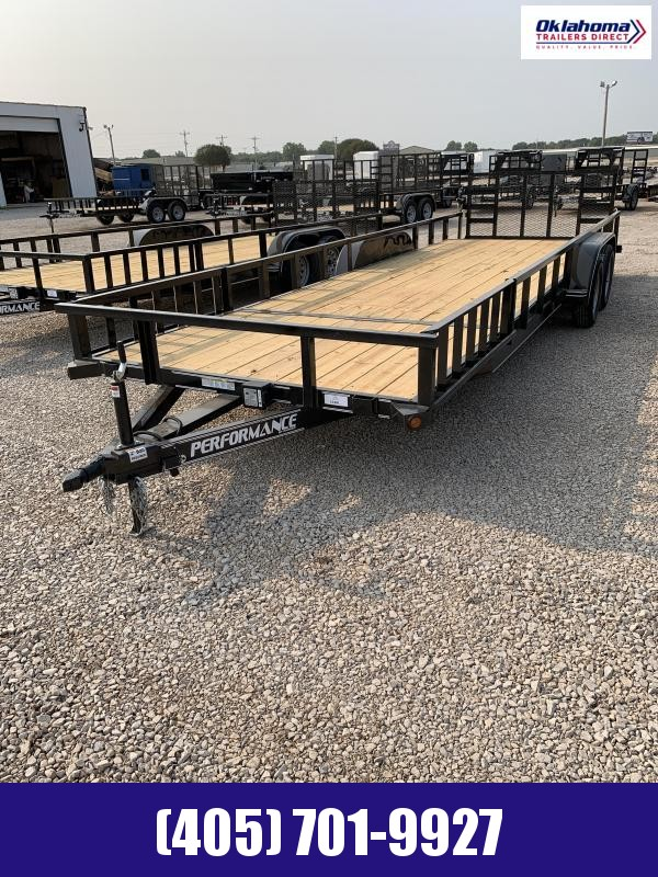 "2021 Performance Trailers 83"" X 24'  Utility Trailer"