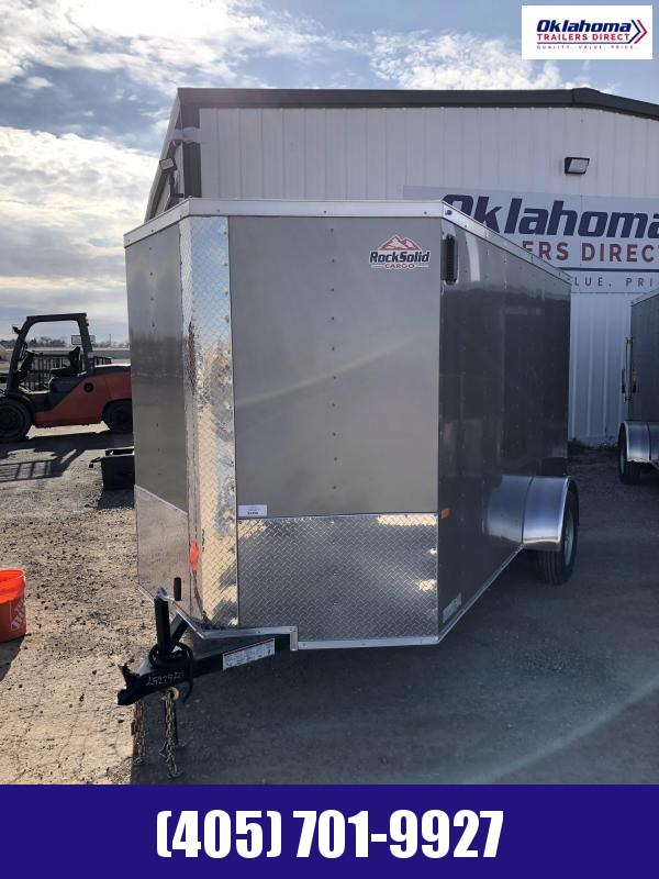2021 Rock Solid Cargo 6 x 12 SA Enclosed Cargo Trailer