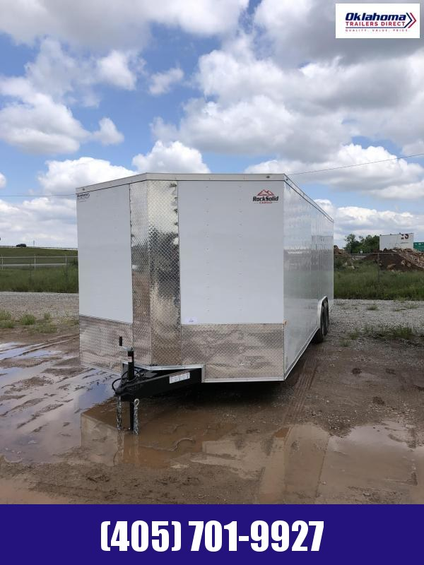 2021 Rock Solid Cargo 8.5' x 24' TA Enclosed Cargo Trailer Enclosed Cargo Trailer
