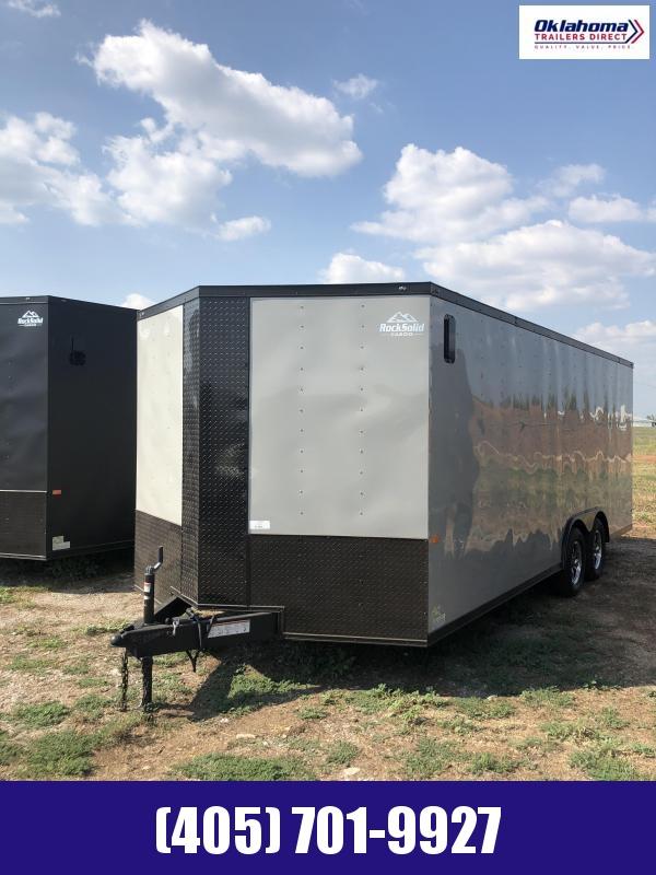"""2021 Rock Solid Cargo 8.5"""" x 20' Enclosed Cargo Trailer"""